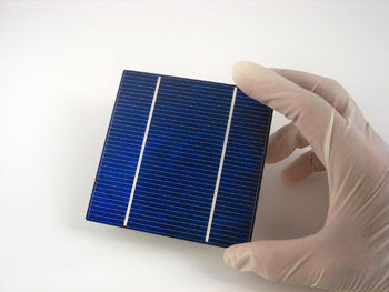 Illustration 2. A solar cell