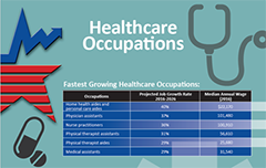 healthcare occupations