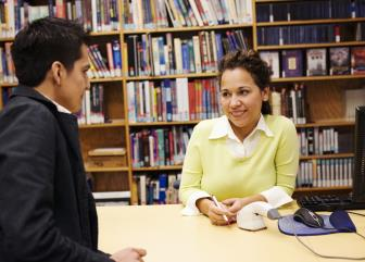 library technicians and assistants image