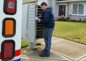postal service workers image