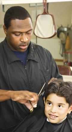 Barbers, hairdressers, and cosmetologists