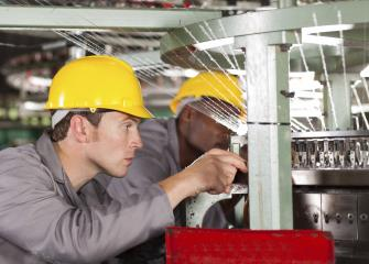 Industrial machinery mechanics and maintenance workers
