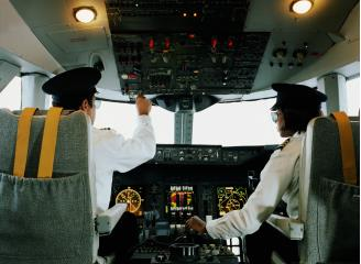 Airline and commercial pilots