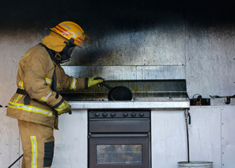 Fire inspectors and investigators