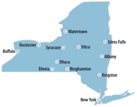 New York Area Map